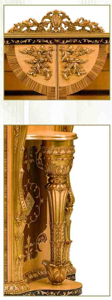 Breakfronts U0026 China Cabinets 11 Luxury Furniture. Exquisite Empire Style  Dining Cabinet.