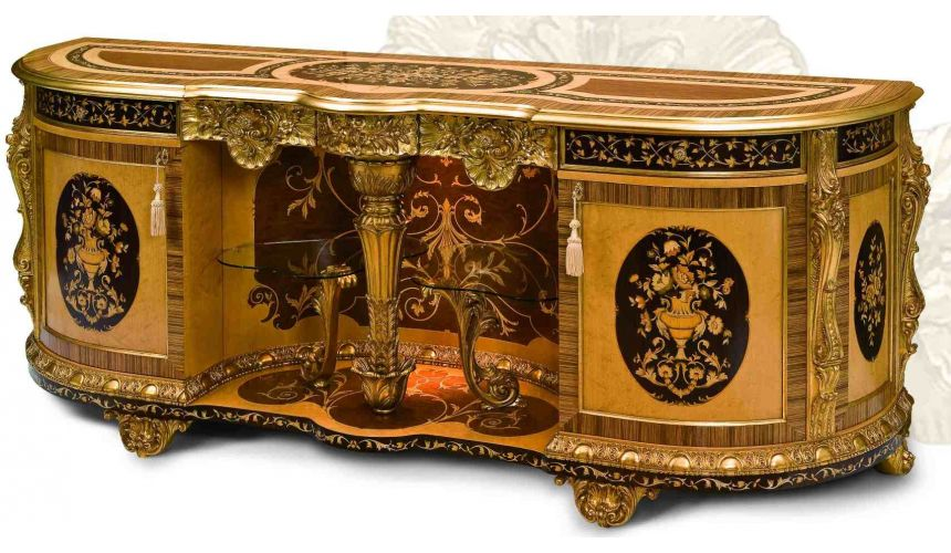 Breakfronts & China Cabinets 11 Luxury furniture. Exquisite empire style dining breakfront.