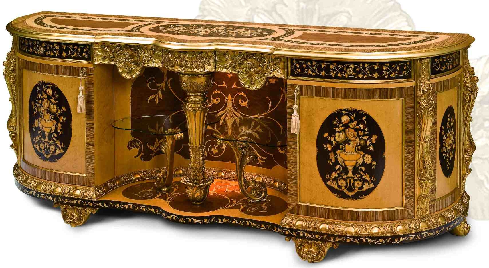 Breakfronts U0026 China Cabinets 11 Luxury Furniture. Exquisite Empire Style  Dining Breakfront.