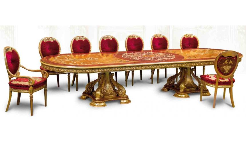 Dining Tables Luxury handmade furniture. Empire Style dining table