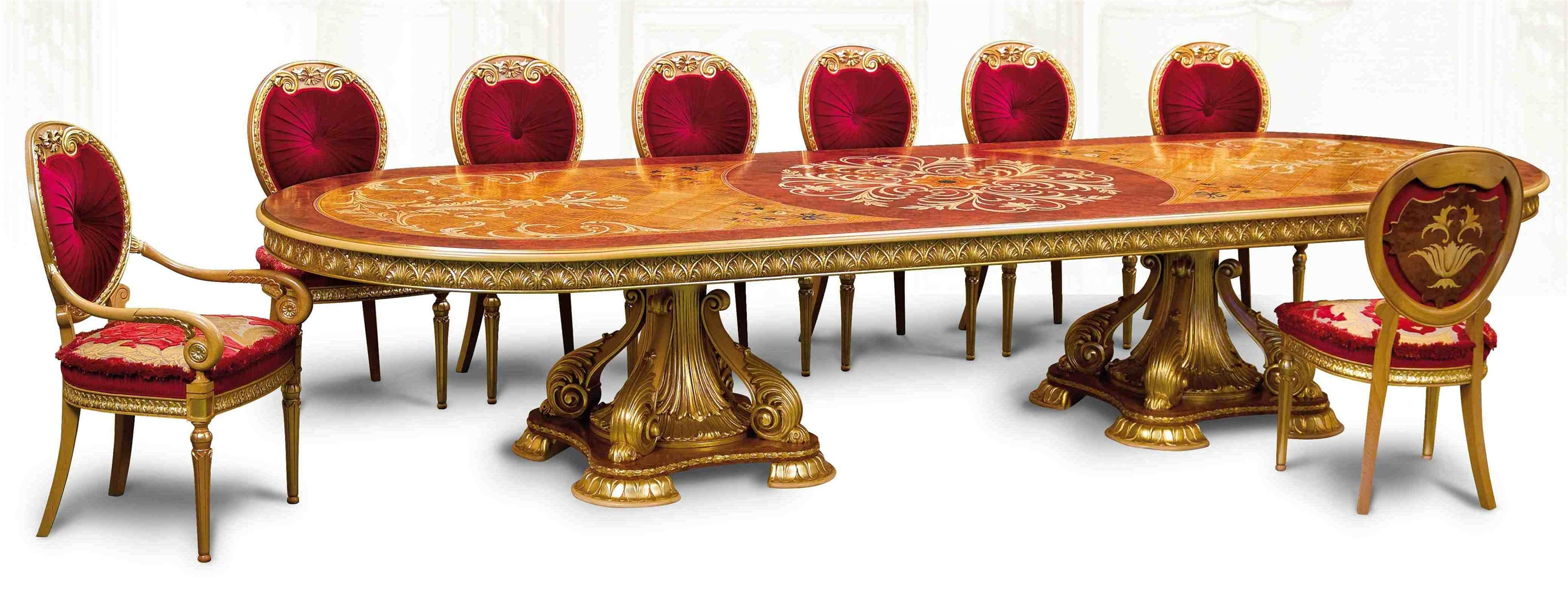 empire style dining table seating for 26 people greenwich ri