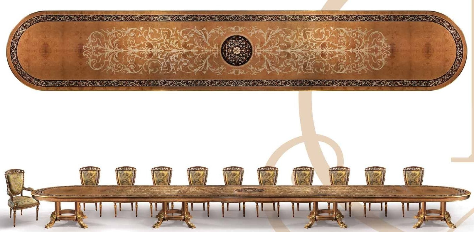 Dining Tables Empire Style Conference Table