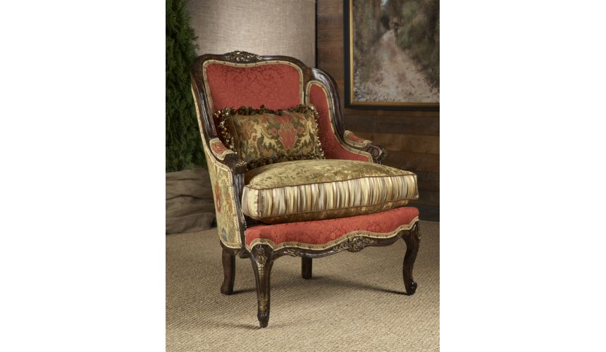 Luxury Leather & Upholstered Furniture Luxury furniture. gorges comfortable accent chair.
