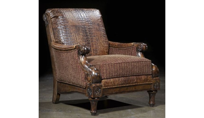 Luxury Leather & Upholstered Furniture Luxury furniture Gator chair