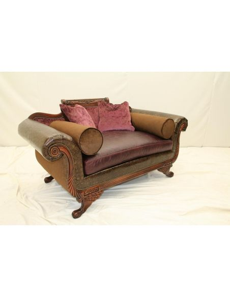 Luxury Leather & Upholstered Furniture Luxury Home and Office Furniture, Duncan Phyfe Chair