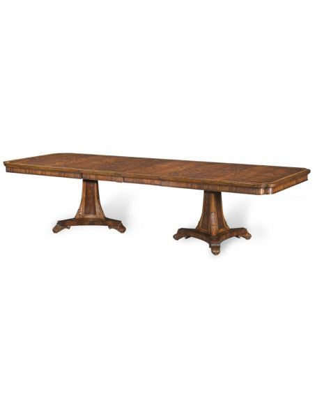 Dining Tables Luxury Mahogany and cross-banded dining table.