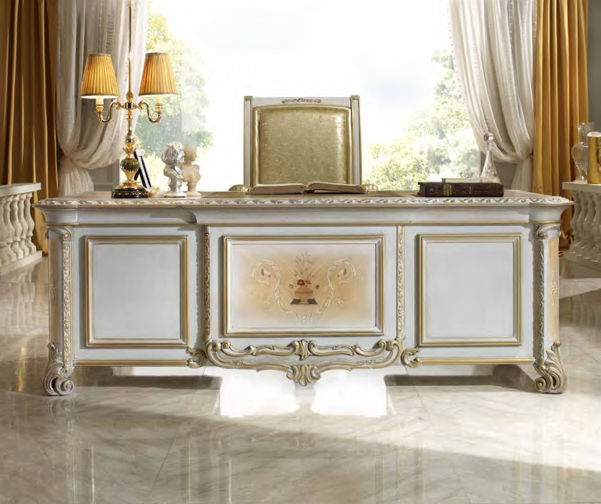 Luxury office furniture handmade furniture in italy for Upscale home office furniture