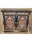 Luxury side cabinet. King Louis Collection Boulle marquetry work.