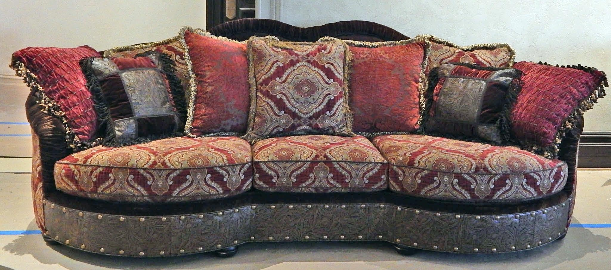 Luxury Leather U0026 Upholstered Furniture 12 Luxury Red Burgundy Sofa Or Couch.
