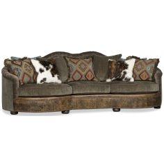 11 Blazing gunmetal blue sofa or couch.