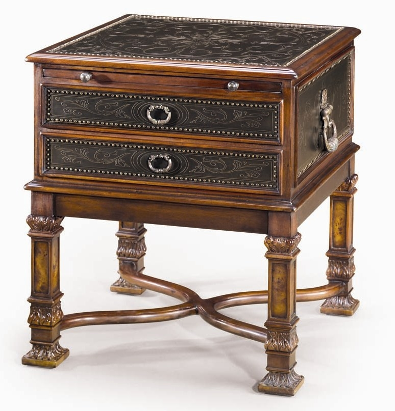 Luxury Traditional Furniture. Chest Of Drawers Side Table