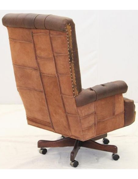 Office Chairs 125-01 Tufted Executive Chair
