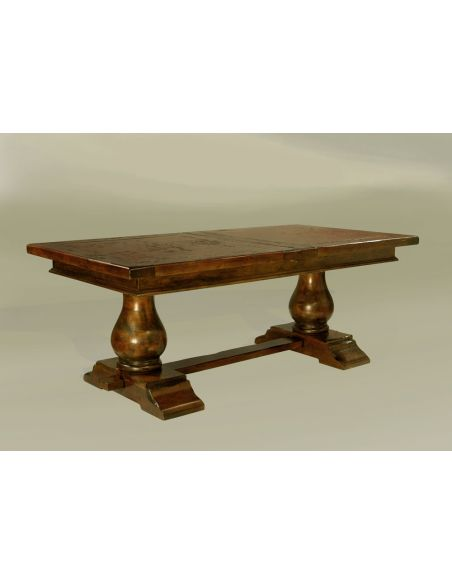 Dining Tables Rustic Luxury Furniture Table Dining Ext Nutmeg