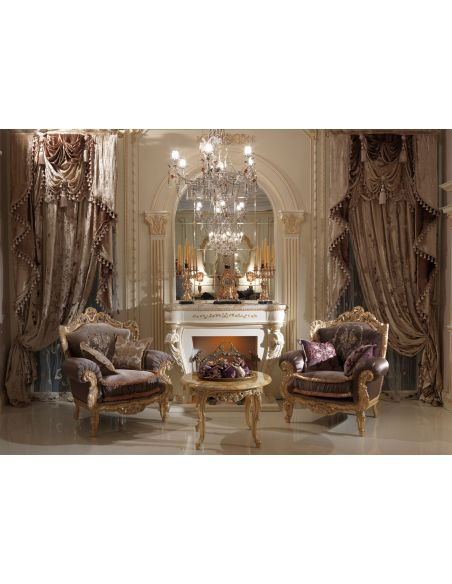 Furniture Masterpieces Embroidered custom made draperies