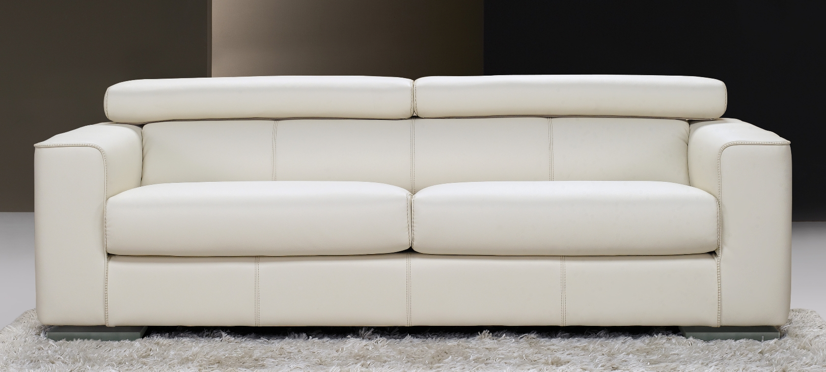 Modern Luxury Leather Sofa. Fine Home Furnishings.