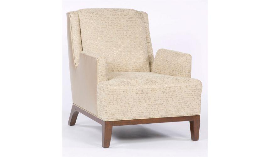 Luxury Leather & Upholstered Furniture Modern metropolitan chair. 31