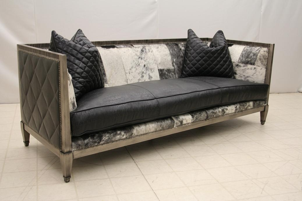 Wood Frame Sofa L-