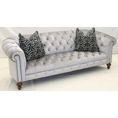 Stunning Silver Moon Sofa