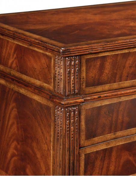 LUXURY BEDROOM FURNITURE Napoleon III style Chest of Drawers-81