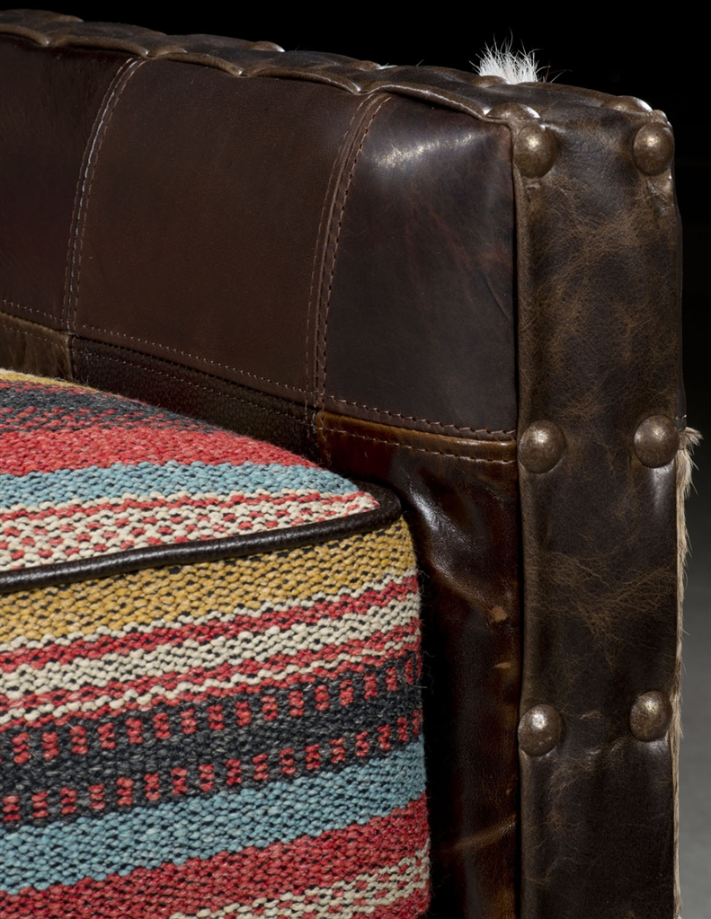 Stylish Recliner: New Mexico Western Style Accent Chair. Furniture And