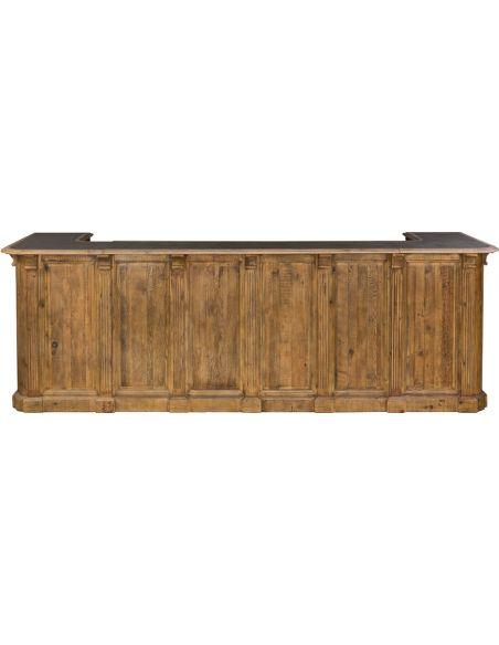 Home Bar Furniture Galvanized Top Bar Table