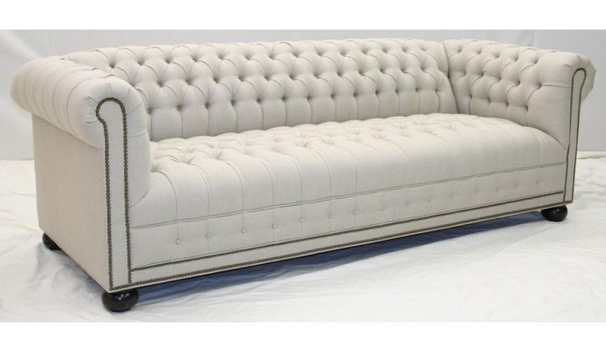 American Classic Style Leather Sofa-62
