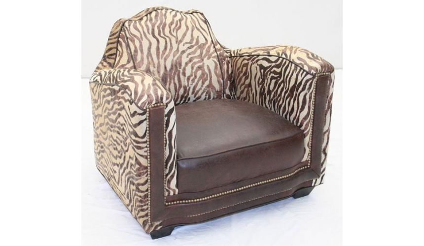 Luxury Leather & Upholstered Furniture Sofa Chairs Online-113