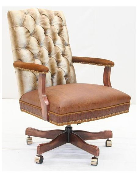 Office Chairs Luxury Leather Chair-2