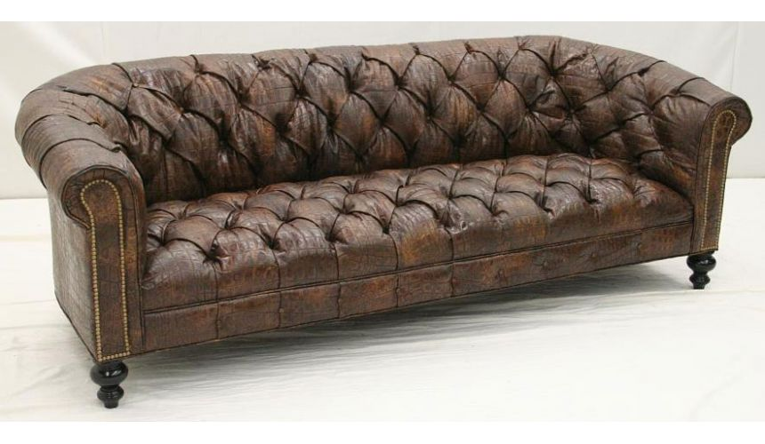 High Quality American Made Leather Sofa-10