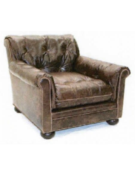 Luxury Leather & Upholstered Furniture High Quality Leather Chair-98