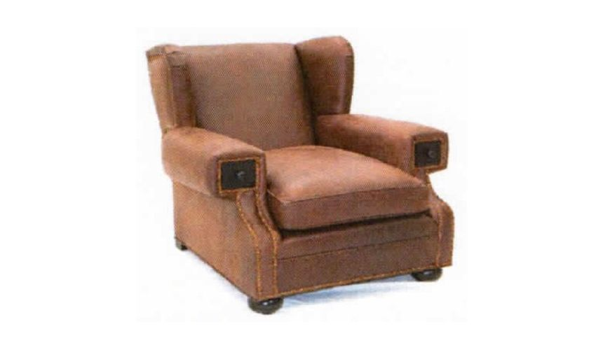 American Made Leather Chair-22