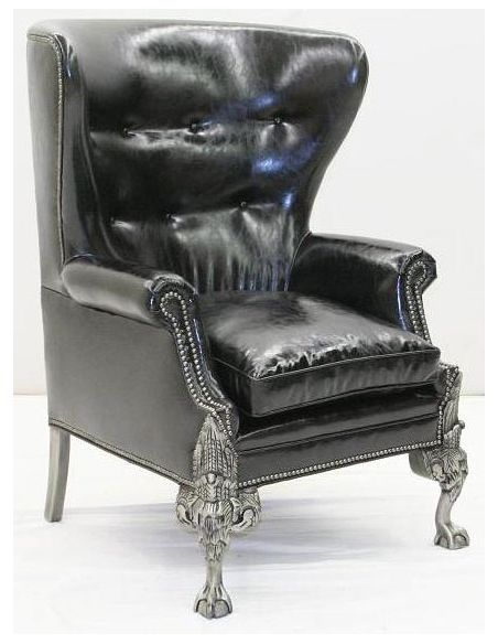 American Made Luxury Leather Chair-72