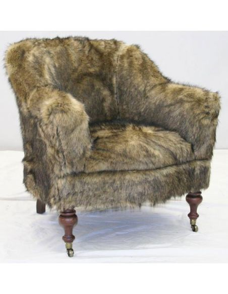 American Made Upholstered Sofa Chair-81