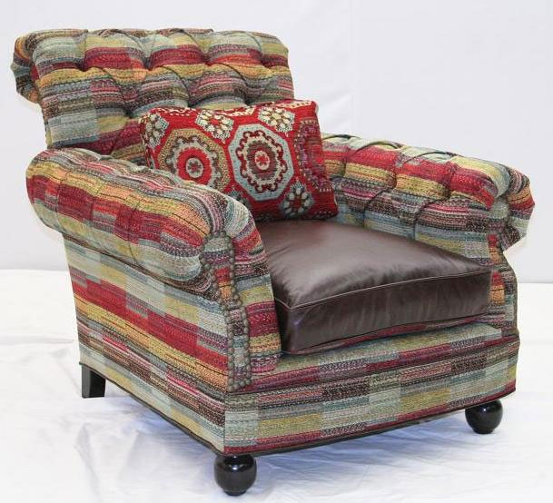 American Made Upholstered Modern Sofa 87