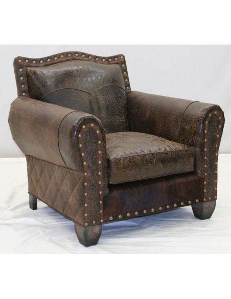 High Quality Luxury Leather Sofa Chair-24
