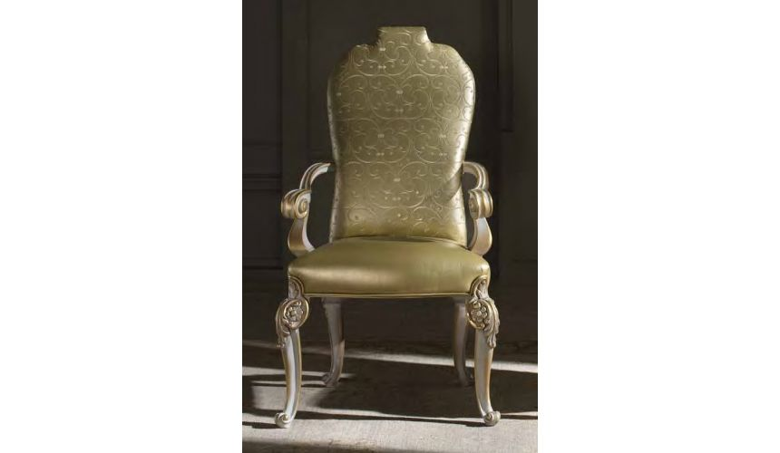 Dining Chairs 2 High end dining room arm chair.