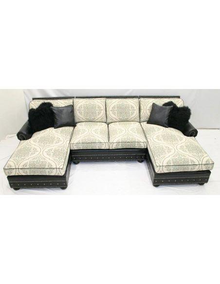 Luxury Modern Upholstered Sofa-56
