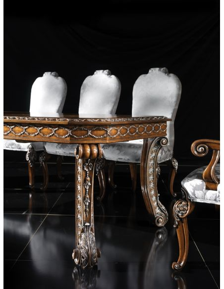 Dining Tables 1 High end Italian furniture elegant dining room table