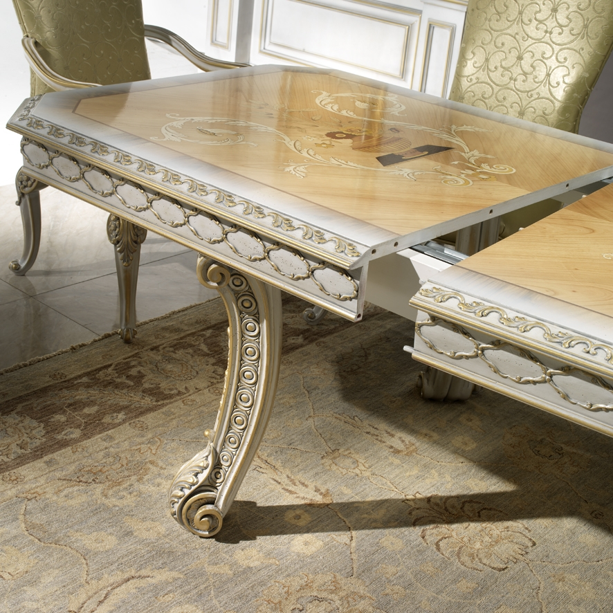 1 high end italian furniture elegant dining room table for High end dining table