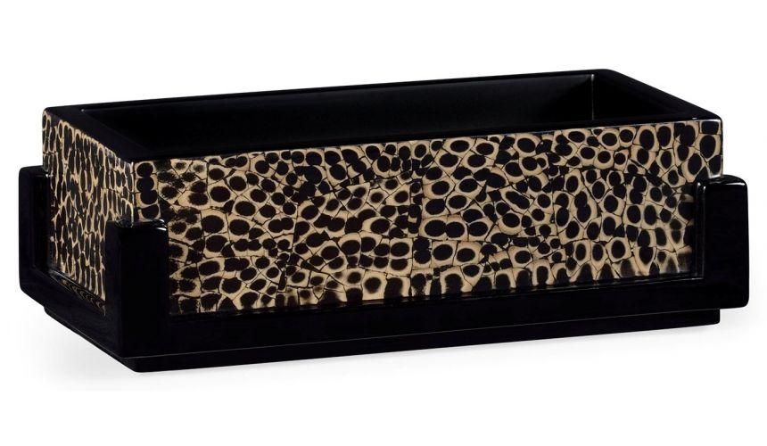 Snake Skin Design Rectangular Pen Box
