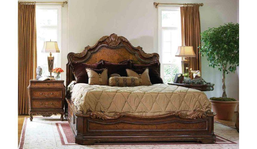 BEDS - Queen, King & California King Sizes High end master bedroom set, platform bed.