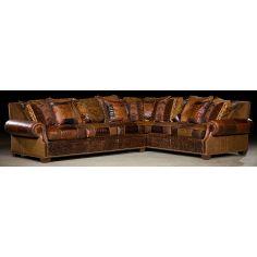 Grand home furniture. Plush sectional sofa. 35