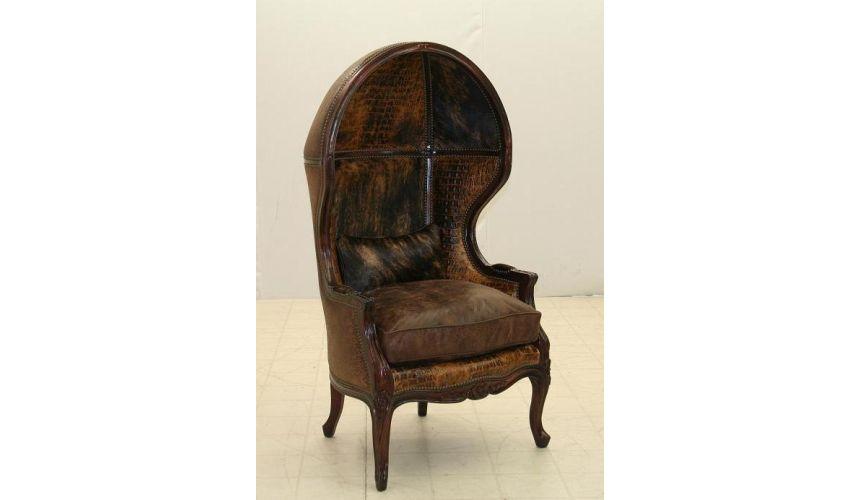 Western Furniture Luxurious Papa Crock Porters Chair