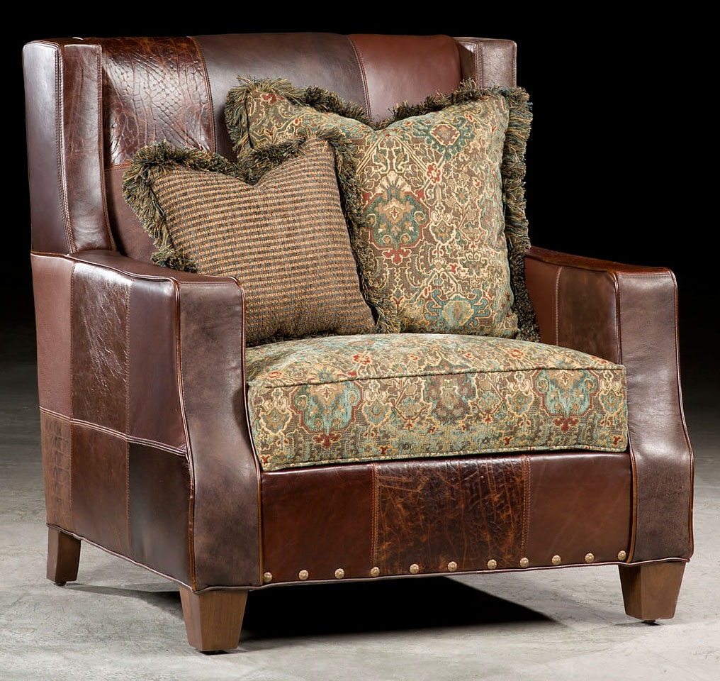 Luxury Leather U0026 Upholstered Furniture American Made Antique Leather Chair  13