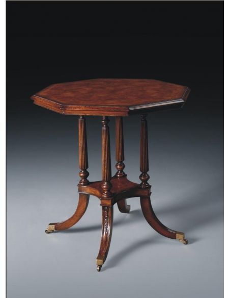Square & Rectangular Side Tables Luxury Furniture Octagonal Side Table