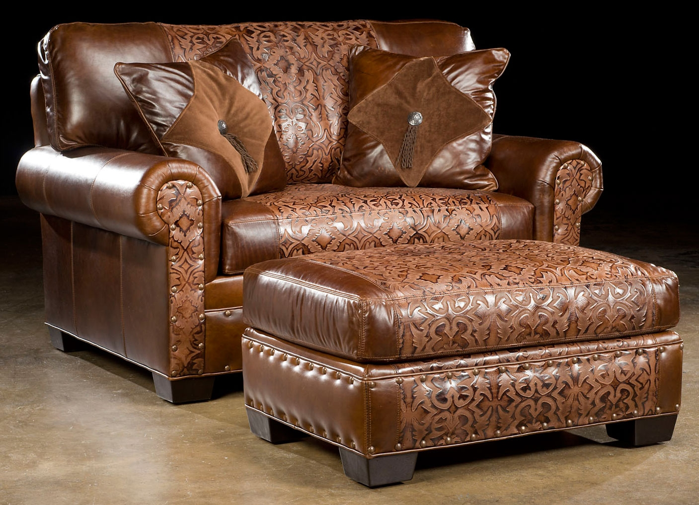 Perfect Luxury Leather U0026 Upholstered Furniture American Made Small Leather Sofa 40