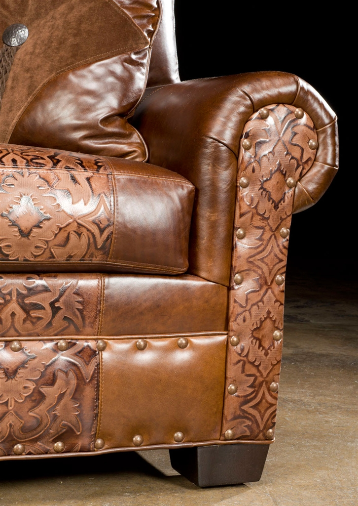 Luxury Leather U0026 Upholstered Furniture American Made Small Leather Sofa 40