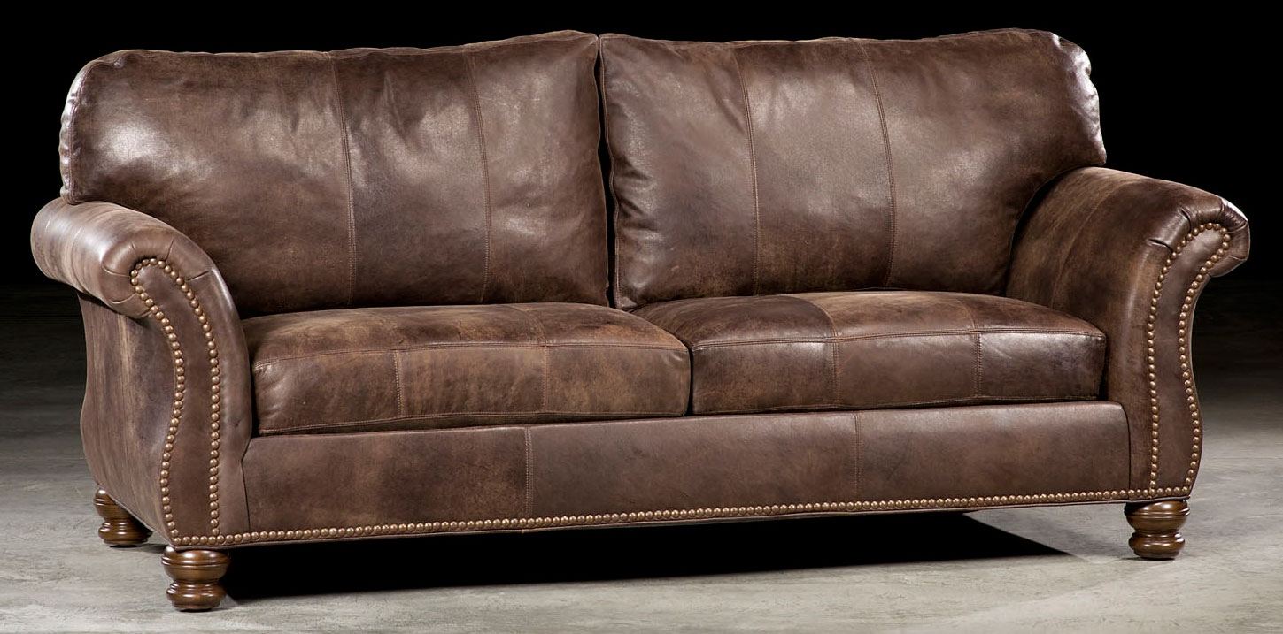 SOFA, COUCH U0026 LOVESEAT High Quality Leather Sofa 90