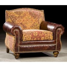 High Quality Antique Leather Chair-67