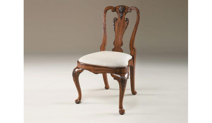 Dining Chairs Queen Anne 598 Dining side chair